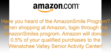 Wenatchee senior center smiles amazon